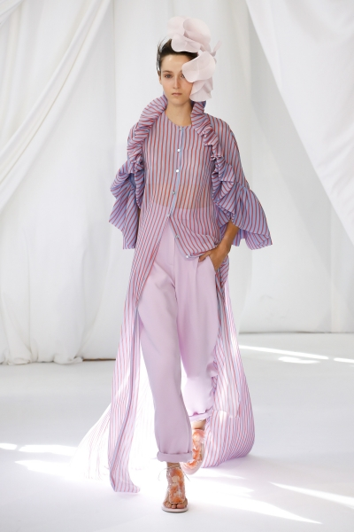 Yana Van Ginneken For Delpozo S/S19 LonDon